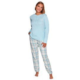 Pijama Clásico Mujer Muydemi Algodón invierno