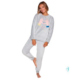 Pijama Mujer Muydemi Coralina Invierno