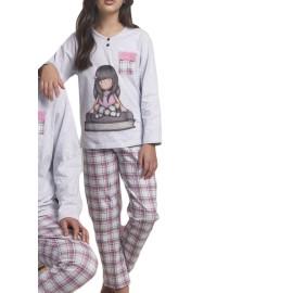 Pijama Niña Gorjuss Invierno Libros