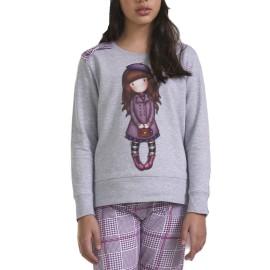 Pijama Niña Gorjuss Cuadros Invierno