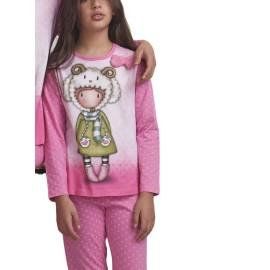 Pijama Santoro NIña Gorjuss Oveja Invierno