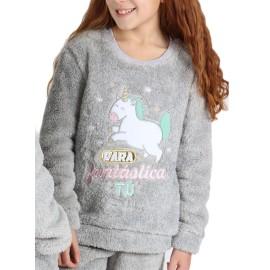 Pijama Mr Wonderful Niña Coralina Unicornio