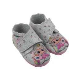 Zapatilla botita bebé fieltro Princesas