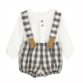 Conjunto pololo y camisa bebé Calmaro