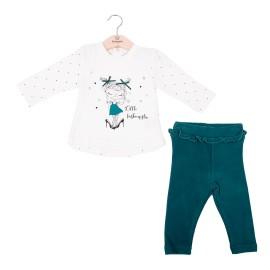 Conjunto legging y camiseta Baby bol niñas