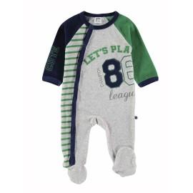 Pelele bebé Yatsi terciopelo Let´s Play