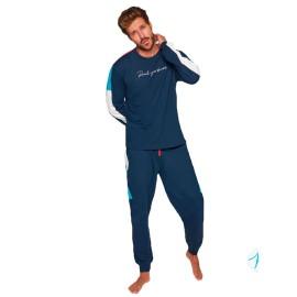 Pijama Hombre Muydemi Invierno Puños