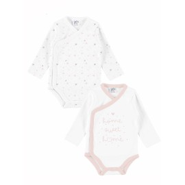 Bodi bebé pack 2 unidades algodón