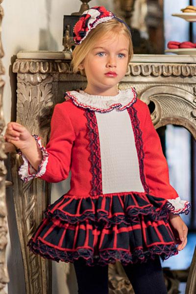 Vestido navideño niña